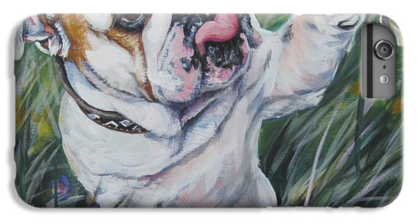 English Bulldog IPhone 6 Plus Case by Lee Ann Shepard