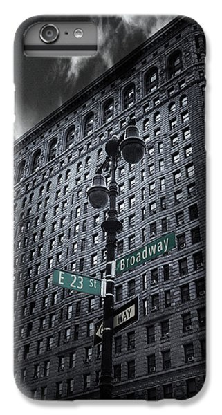 IPhone 6 Plus Case featuring the photograph Flatiron Noir by Jessica Jenney