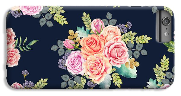 Floral Pattern 1 IPhone 6 Plus Case by Stanley Wong