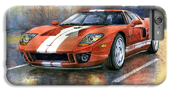 Car iPhone 6 Plus Case - Ford Gt 40 2006  by Yuriy Shevchuk