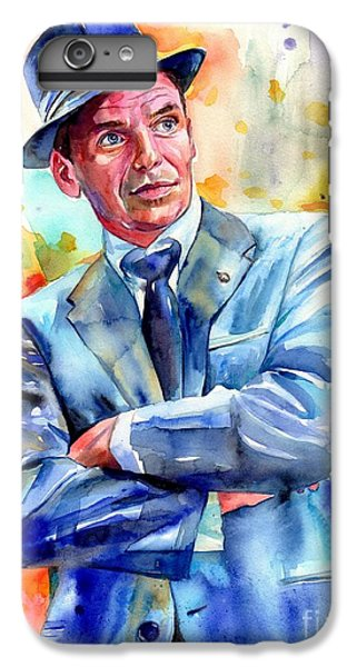 Fairy iPhone 6 Plus Case - Frank Sinatra Young Painting by Suzann's Art