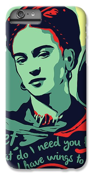 Folk Art iPhone 6 Plus Case - Frida Kahlo by Greatom London