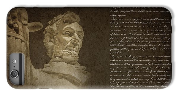 Gettysburg Address IPhone 6 Plus Case by Diane Diederich