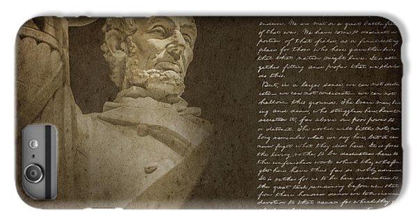 Gettysburg Address IPhone 6 Plus Case by Diane Diederich