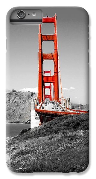 Architecture iPhone 6 Plus Case - Golden Gate by Greg Fortier