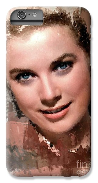 Grace Kelly, Vintage Hollywood Actress IPhone 6 Plus Case by Mary Bassett