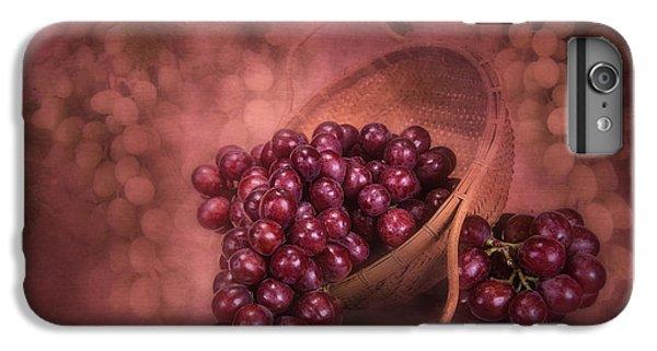 Grapes In Wicker Basket IPhone 6 Plus Case by Tom Mc Nemar
