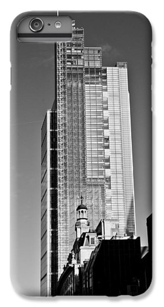 Heron Tower London Black And White IPhone 6 Plus Case by Gary Eason
