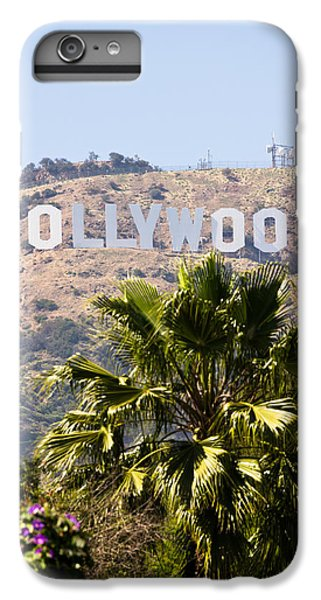 Hollywood Sign Photo IPhone 6 Plus Case by Paul Velgos