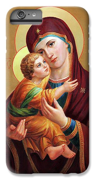 iPhone 6 Plus Case - Holy Mother Of God - Blessed Virgin Mary by Svitozar Nenyuk
