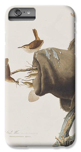 House Wren IPhone 6 Plus Case by John James Audubon