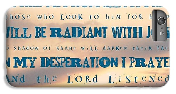 Design iPhone 6 Plus Case - I Will Praise The Lord At All Times.  I by LIFT Women's Ministry designs --by Julie Hurttgam