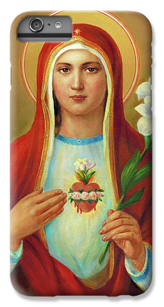 iPhone 6 Plus Case - Immaculate Heart Of Mary by Svitozar Nenyuk