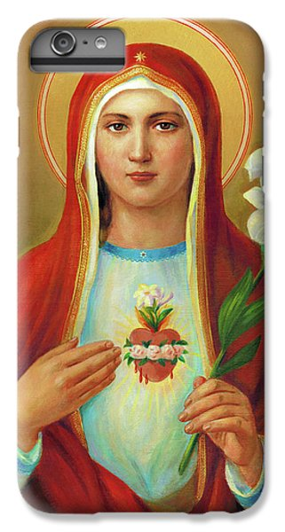iPhone 6 Plus Case - Immaculate Heart Of Mary by Svitozar Nenyuk