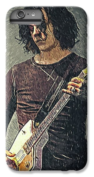 Folk Art iPhone 6 Plus Case - Jack White by Zapista
