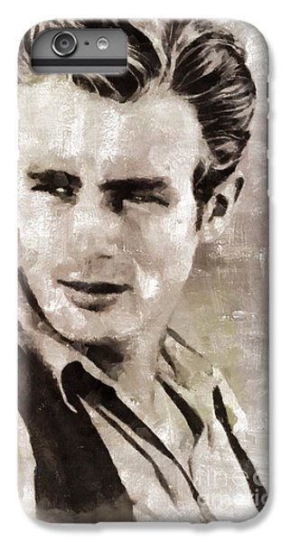 James Dean Hollywood Legend IPhone 6 Plus Case by Mary Bassett