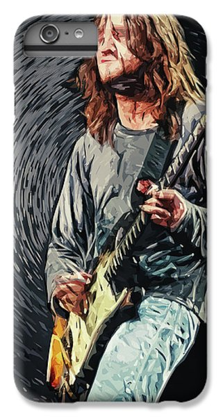 John Frusciante IPhone 6 Plus Case by Taylan Apukovska