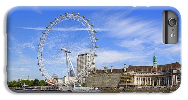 London Eye iPhone 6 Plus Case - London Eye by Joana Kruse