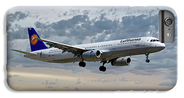 Jet iPhone 6 Plus Case - Lufthansa Airbus A321-131 by Smart Aviation