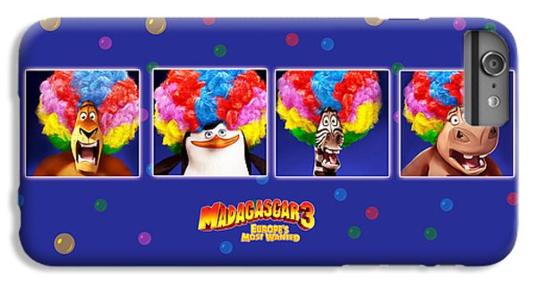 Design iPhone 6 Plus Case - Madagascar 3 Europe's Most Wanted by Maye Loeser