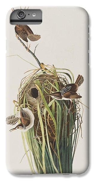 Marsh Wren  IPhone 6 Plus Case by John James Audubon