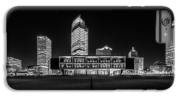 IPhone 6 Plus Case featuring the photograph Milwaukee County War Memorial Center by Randy Scherkenbach
