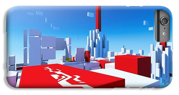 Design iPhone 6 Plus Case - Mirror's Edge by Maye Loeser