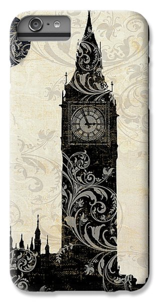 Moon Over London IPhone 6 Plus Case by Mindy Sommers