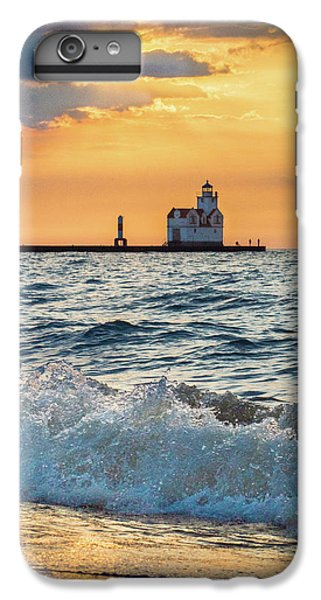 IPhone 6 Plus Case featuring the photograph Morning Dance On The Beach by Bill Pevlor