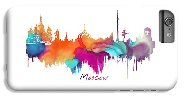 Moscow  IPhone 6 Plus Case by Justyna JBJart