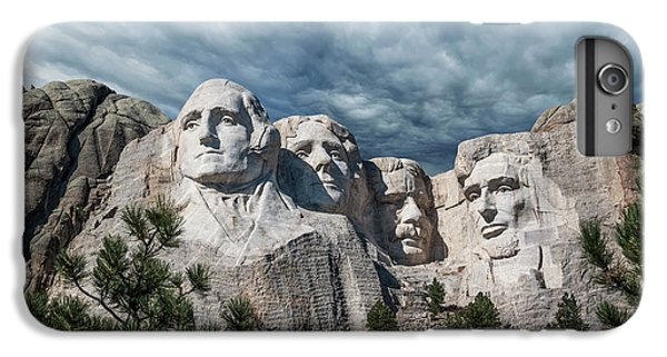 Mount Rushmore iPhone 6 Plus Case - Mount Rushmore II by Tom Mc Nemar