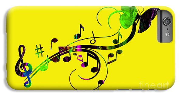 Music Flows Collection IPhone 6 Plus Case
