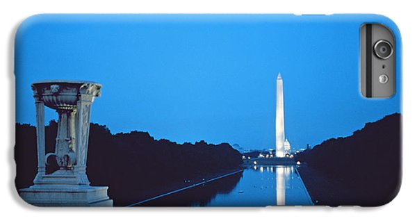 Night View Of The Washington Monument Across The National Mall IPhone 6 Plus Case by American School