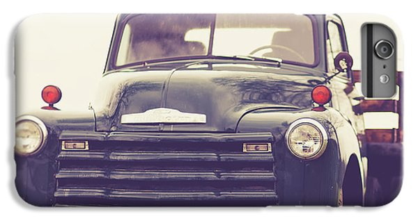 iPhone 6 Plus Case - Old Chevy Farm Truck In Vermont Square by Edward Fielding