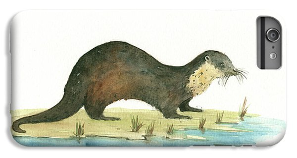 Otter IPhone 6 Plus Case by Juan Bosco