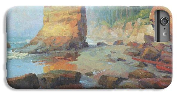 Pacific Ocean iPhone 6 Plus Case - Otter Rock Beach by Steve Henderson