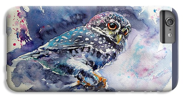 Owl iPhone 6 Plus Case - Owl At Night by Kovacs Anna Brigitta