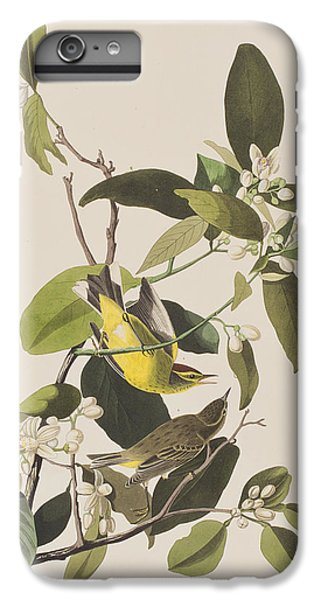 Palm Warbler IPhone 6 Plus Case by John James Audubon