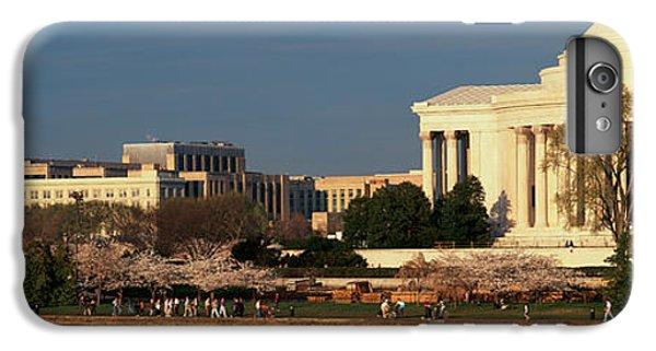 Jefferson Memorial iPhone 6 Plus Case - Panoramic View Of Jefferson Memorial by Panoramic Images