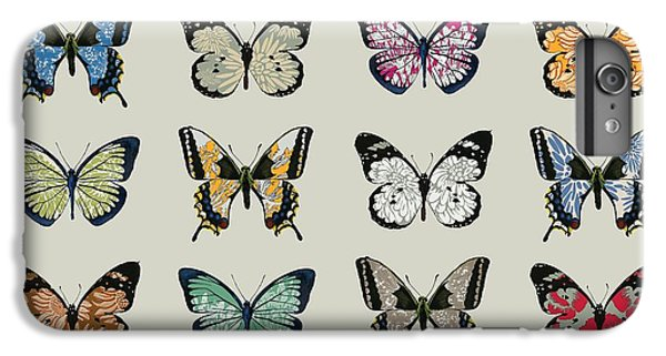 Butterfly iPhone 6 Plus Case - Papillon by Sarah Hough