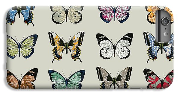 Papillon IPhone 6 Plus Case by Sarah Hough