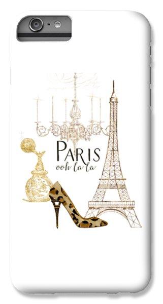 Paris - Ooh La La Fashion Eiffel Tower Chandelier Perfume Bottle IPhone 6 Plus Case