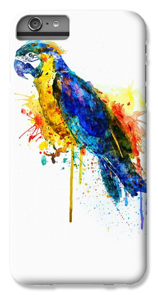 Parrot Watercolor  IPhone 6 Plus Case by Marian Voicu