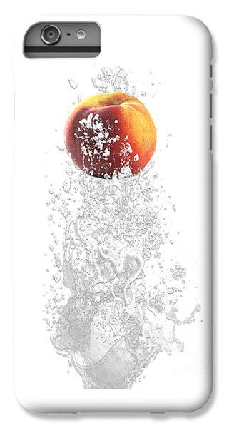 Peach Splash IPhone 6 Plus Case by Marvin Blaine