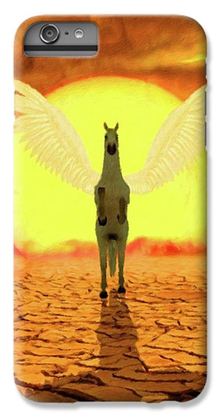 Pegasus iPhone 6 Plus Case - Pegasus By Mary Bassett by Mary Bassett