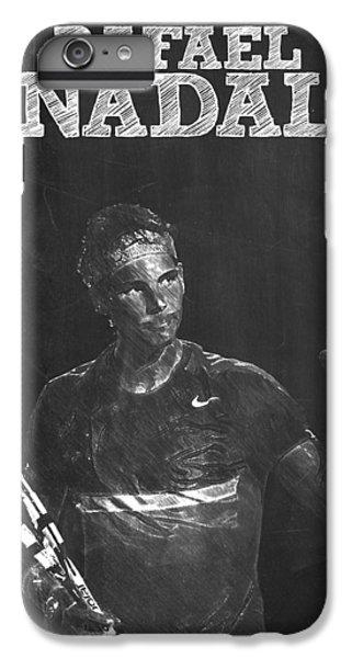 Rafael Nadal IPhone 6 Plus Case by Semih Yurdabak