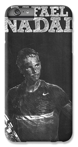 Rafael Nadal IPhone 6 Plus Case by Semih Yurdabak