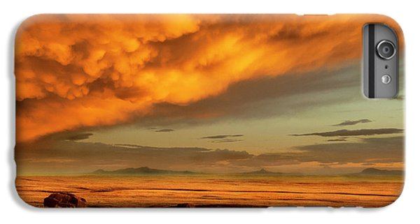 Red Rock Coulee Sunset 1 IPhone 6 Plus Case