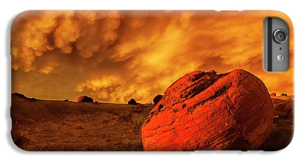 Red Rock Coulee Sunset 3 IPhone 6 Plus Case