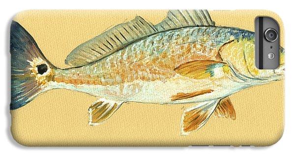 Miami iPhone 6 Plus Case - Redfish Painting by Juan  Bosco